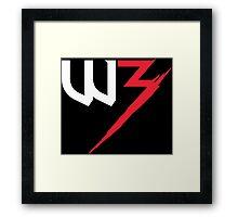 TW3 Framed Print