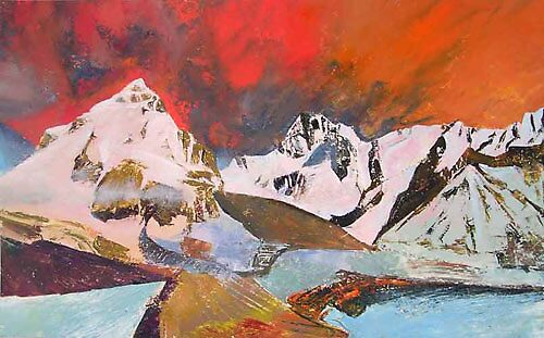 Caucasia mountains 015 by Valeriy Grachov