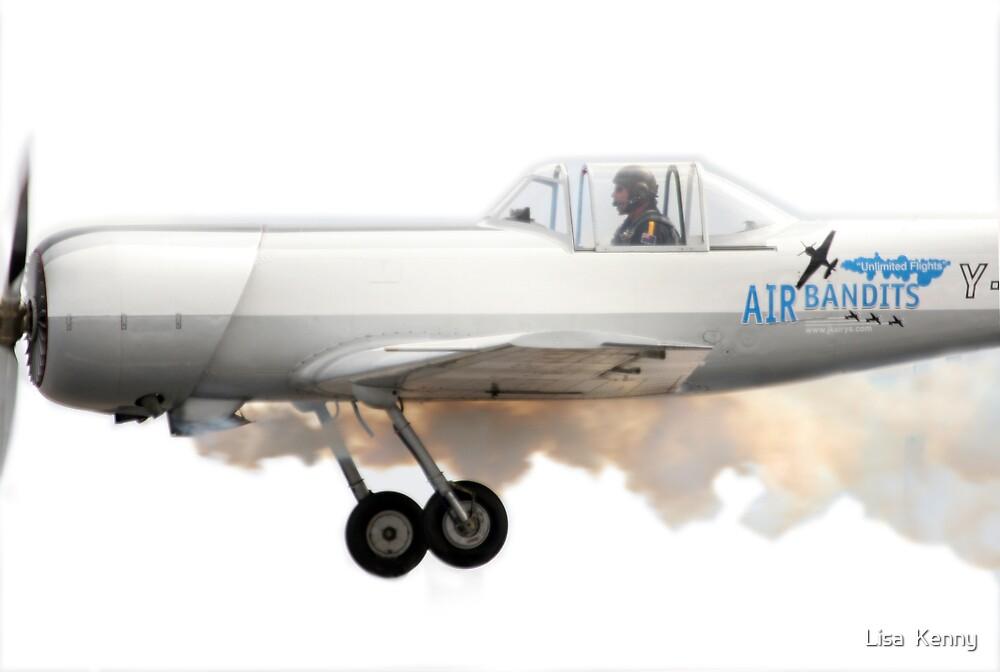 Air Bandit by Lisa  Kenny