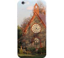 A Chapel In Autumn Light iPhone Case/Skin