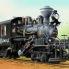 Climax Geared Locomotive by LocomotiveArt