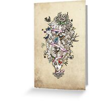 Her Wild Life Greeting Card