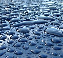 DROPLETS ON A CAR ROOF by PhotogeniquE IPA