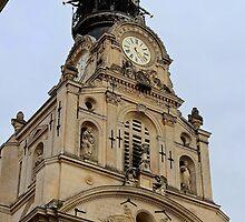 Ste Croix Church - Nantes, France. by Tiffany Lenoir
