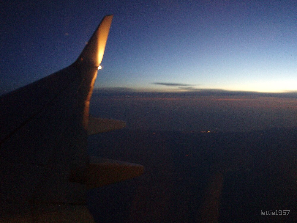 Trip back from Perth - Still light in rear and dark in front -   by lettie1957