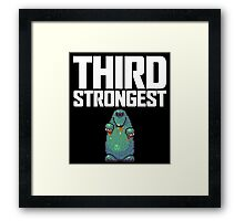 Guardian Digger Framed Print