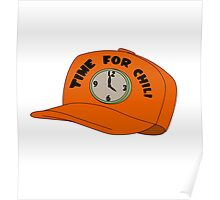 Time for Chili Hat Shirt Poster