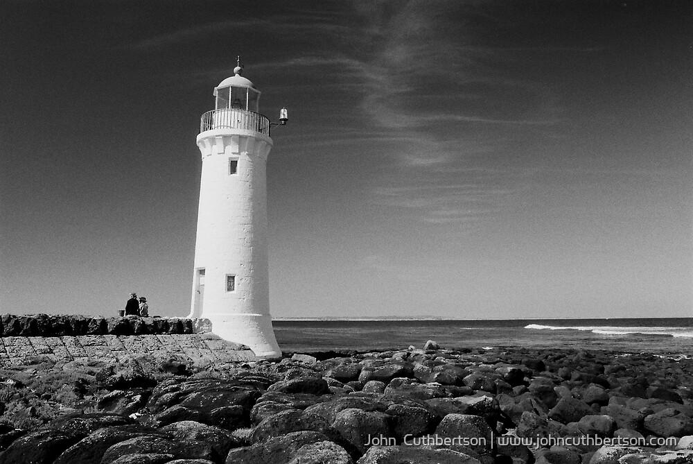 Lighthouse, Port Fairy by John  Cuthbertson | www.johncuthbertson.com