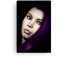 Plum Mondays Canvas Print
