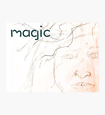 Magic Man Fae Photographic Print