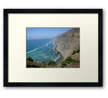 Ragged Point at Big Sur Framed Print