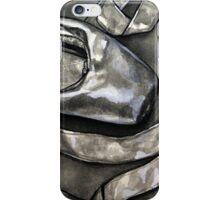 Pointe shoe  - ink iPhone Case/Skin