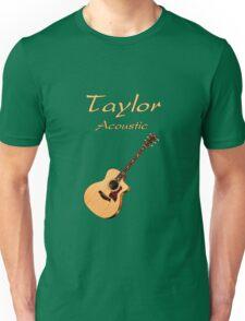 Taylor Acoustic Guitar Unisex T-Shirt