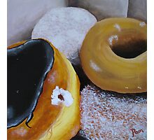 Donuts 2 Photographic Print