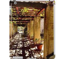San Gabriel Mission Arches iPad Case/Skin