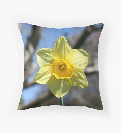 Yellow Hope Throw Pillow