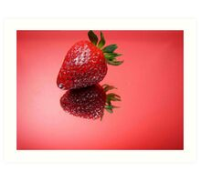 Berry Bright Art Print