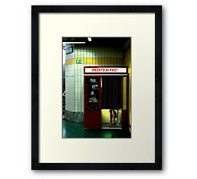 Pronto Phot Framed Print