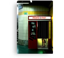 Pronto Phot Canvas Print