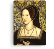 Anne Boleyn, Queen of England Canvas Print