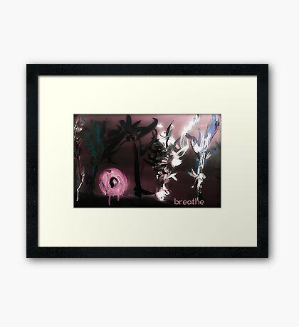 Ecology Breathing Framed Print