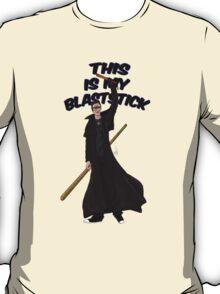 This is my blast-stick T-Shirt