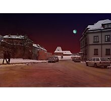 The Old Town in Vilnius Photographic Print