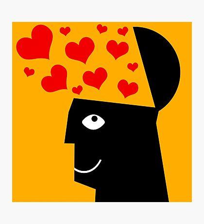 love hearts Photographic Print