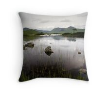 Rannoch Moor Throw Pillow