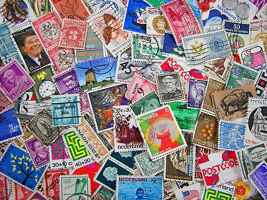 Stamps From the Past by Maria Dryfhout