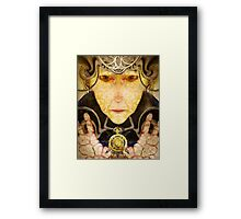 Maliciounata ~ The Time Thief Framed Print