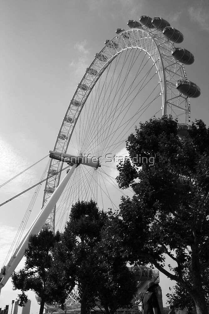 The London Eye by Jennifer Standing