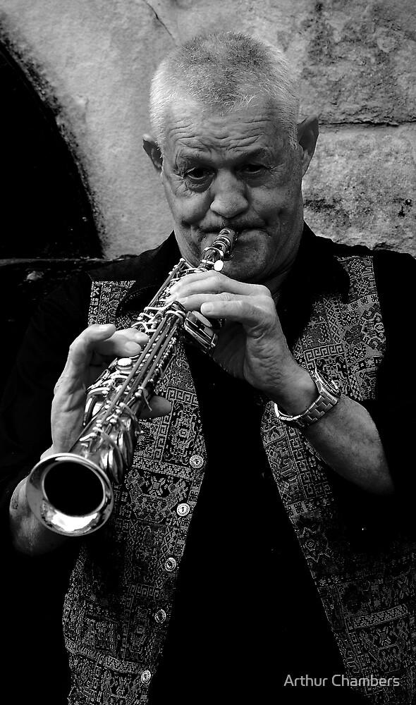 Jazz man............... by Arthur Chambers