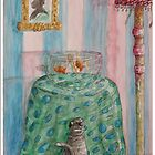 cat and the fishbowl by daniels