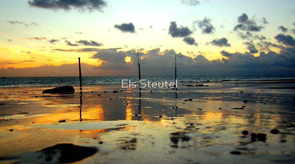 golden beach by Els Steutel