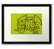 Bob the Cultist Framed Print