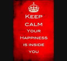 Keep Calm - Finding Happiness Long Sleeve T-Shirt