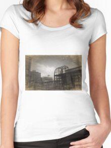 St Paul Farmers Market Women's Fitted Scoop T-Shirt