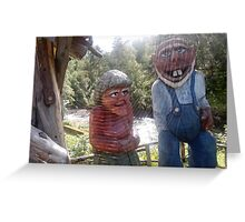 Norway trolls Greeting Card