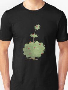 Glitch Ix Land  shrub green 01 Unisex T-Shirt