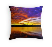 Burning sky 2 Throw Pillow