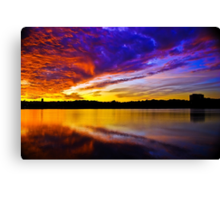 Burning sky 2 Canvas Print