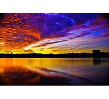 Burning sky 2 Photographic Print