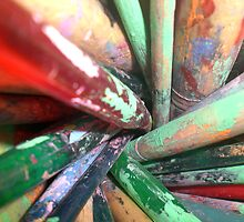 The Paintbrushes by MamaBee