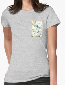 """""""Summertime"""" Womens Fitted T-Shirt"""
