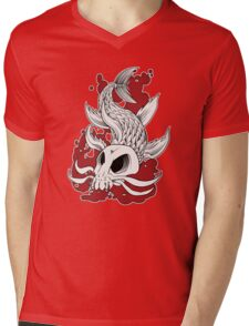 Blood in the Water Mens V-Neck T-Shirt