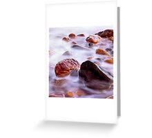 Crail Harbour Rocks Greeting Card