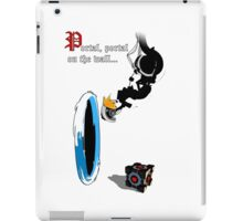 Portal, portal on the Wall... iPad Case/Skin