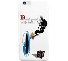 Portal, portal on the Wall... iPhone Case/Skin