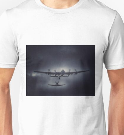 Safely Escorted Home from the Raid Unisex T-Shirt